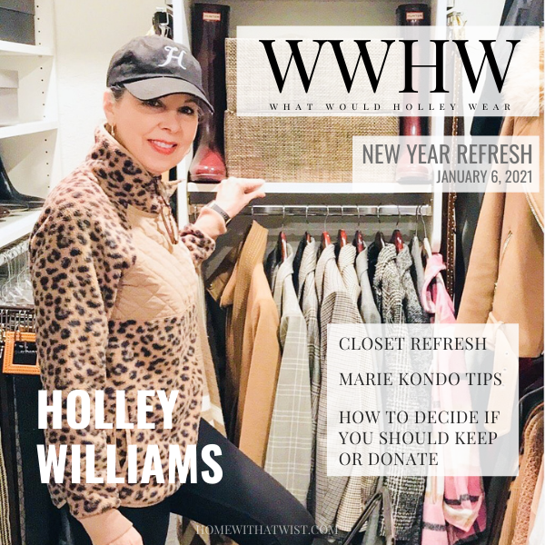 What Would Holley Wear: How to Refresh Your Closet for the New Year